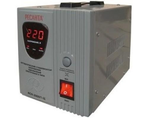 Ресанта АСН-2 000/1-Ц 63/6/4 Стабилизатор 220В±8%, Габариты 237х140х170, Вес 5 кг 4607076037655