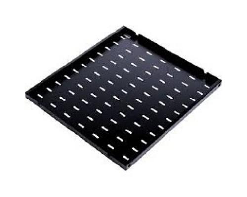 ЦМО Полка перфорированная, глубина 750 мм, цвет черный (СВ-75-9005)