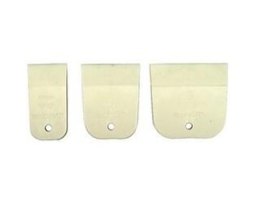 Набор ЗУБР Шпатели МАСТЕР резиновые, белые, 3шт: 40, 60, 80мм 1016-H3_z01