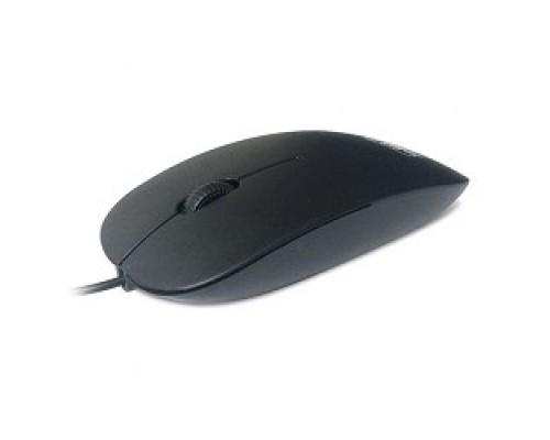 CBR CM 104 Black USB, Мышь 1200dpi, офисн., провод 1.2 метра