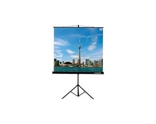 Экраны LUMIEN Lumien Eco View LEV-100103 на треноге 200x200 см 1:1 напольный рулонный