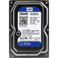 500Gb WD Blue (WD5000AZRZ) Serial ATA III, 5400 rpm, 64Mb buffer
