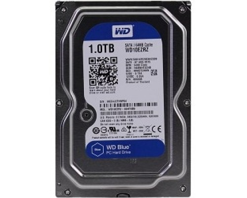 1TB WD Blue (WD10EZRZ) Serial ATA III, 5400 rpm, 64Mb buffer