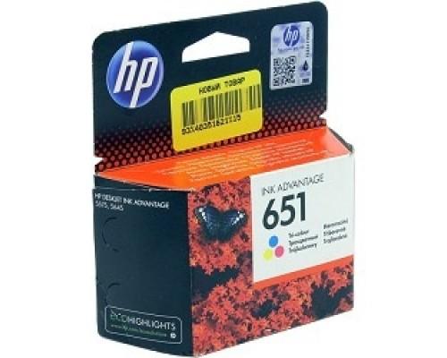 Расходные материалы HP C2P11AE Картридж №651, Color Deskjet Ink Advantage 5645, 5575