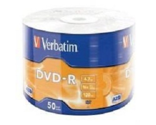 Verbatim Диски DVD-R 4.7Gb, 16-x Data Life (50 шт) (43791)