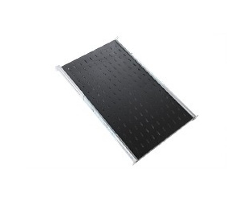 Аксессуар ЦМО Полка перфорированная выдвижная телескопическими направляющими, глубина 620 мм, цвет черный
