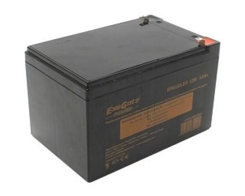 батареи Exegate EP160757RUS Аккумуляторная батарея EG12-12 / EXG12120, 12В 12Ач, клеммы F1