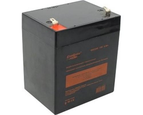 Exegate EP212310RUS Аккумуляторная батарея  Exegate EG4.5-12 / EXG1245, 12В 4,5Ач, клеммы F1 (универсальные)
