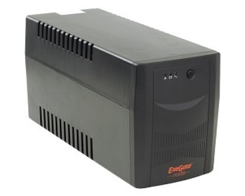 Exegate (EP212521RUS/EP223437RUS) Power  ИБП  Back UNB-1500  <1500VA, Black, 2 евророзетки+2 розетки IEC320>