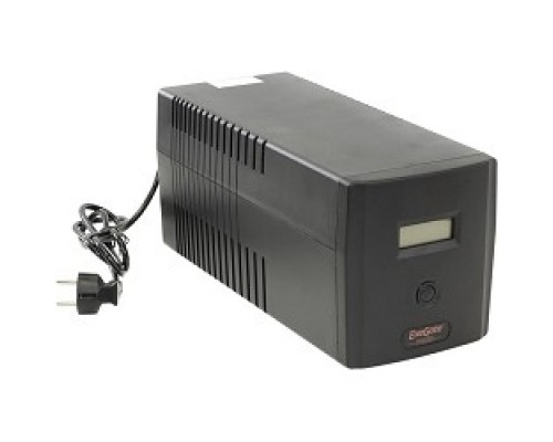 Exegate EP212519RUS ИБП Exegate Power   Smart ULB-1000 LCD <1000VA, Black, 2 евророзетки+2 розетки IEC320, USB>