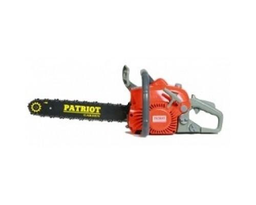 Бензопила PATRIOT PT3816 Emperial 220105515 раб. объем 38сс, л.с, шина цепь 3/8 ; 0,050/1,3mm 57 звеньев; облегченный запуск Easy Start;