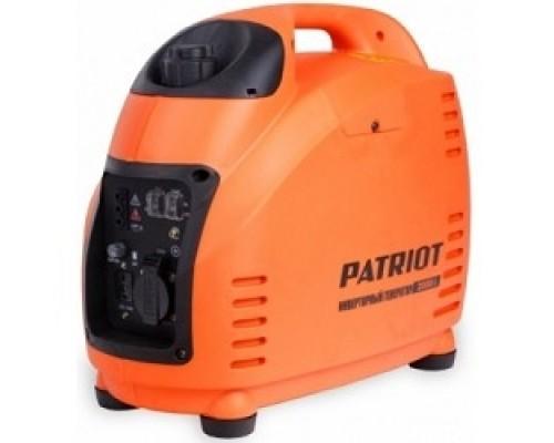 Генераторы инверторный PATRIOT 2000i 474101035 Двигатель 4т, АИ-92, 72сс,мощность рабочая/максимальная -1,5/1,8 кВт, объём бака 3,6 розетка Euro 16A, вес 18,5 кг