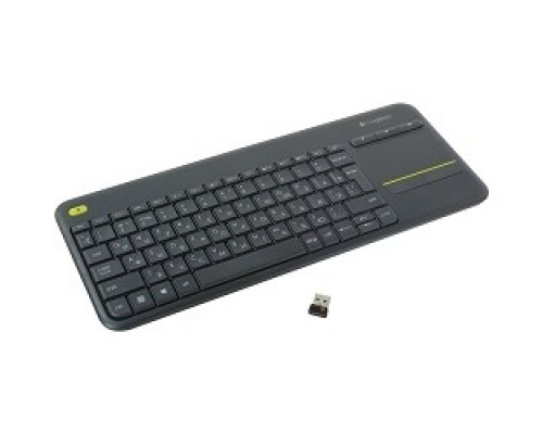 Клавиатура 920-007147 Logitech Keyboard K400 Wireless Touch Plus USB RTL