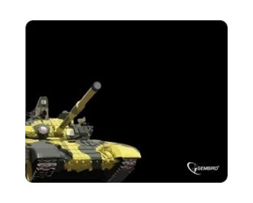 Коврики для мыши Gembird MP-GAME10, рисунок- танк, размеры 250*200*3мм