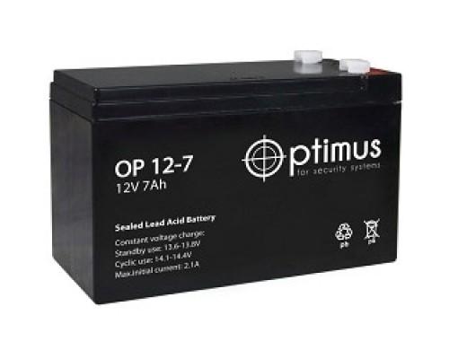 батареи Optimus OP1207 Батарея 12V/7Ah