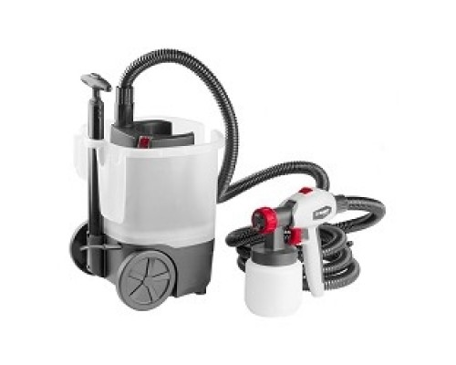 Краскопульт ЗУБР МАСТЕР КПЭ-750 электрический, 750 Вт, HVLP, 0.8 л, краскоперенос 0-800 мл/мин, вязкость краски 100 DIN/сек, сопло 2.6мм