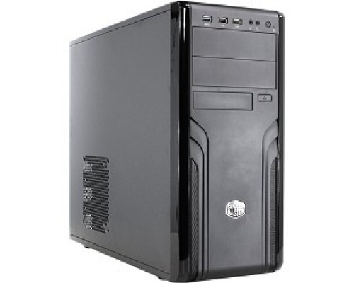 Корпус Cooler Master Force FOR-500-KKN1 Mid tower, USB 3.0 x 2.0 1xFan, Black, ATX, w/o PSU