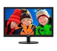 LCD PHILIPS 21.5 223V5LHSB2 (00/01) черный TN 1920x1080 5ms 90/65 200cd 1000:1 D-Sub HDMI