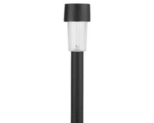 ЭРА Б0018974 Садовый светильник SL-PL30 черный на солнечной батарее, пластик, 30 см