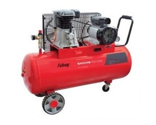 FUBAG B4000B/100 СМ3 Компрессор 45681496 Реси- вер, 100 Произ- водит., л/мин 400 Давле- ние, бар 10 Мощность, кВт 2.2 Напря- жение, В 220 Вес, кг 73.5