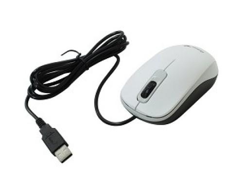 Мышь Genius DX-110 White мышь оптическая, 1000 dpi, 3 кнопки+колесо прокрутки, провод 1,5 USB 31010116102