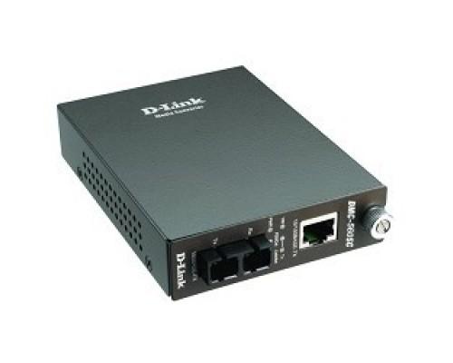 D-Link DMC-515SC/D7A/E Конвертер 10/100 UTP в 100Мб SM Fiber (15km, SC)