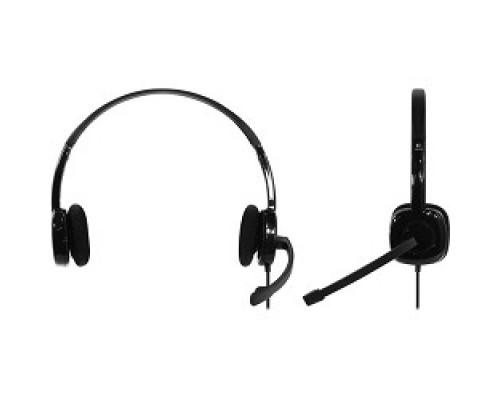 Logitech Headset H151 Stereo Black 981-000589
