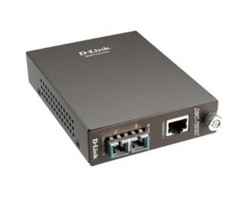 D-Link DMC-700SC/B9A Конвертер 1000Base-T в 1000Base-SX mm (550m, SC)