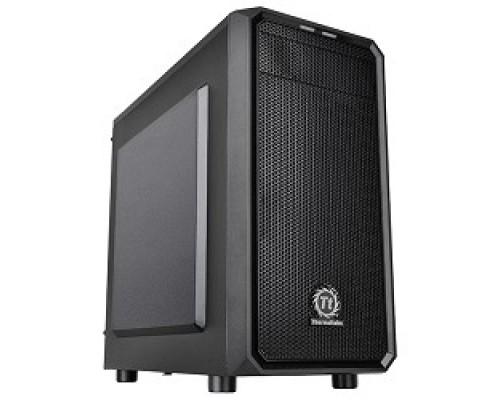 Корпус Case Tt Versa H15 черный w/o PSU mATX 4x120mm 1xUSB2.0 1xUSB3.0 audio bott CA-1D4-00S1NN-00