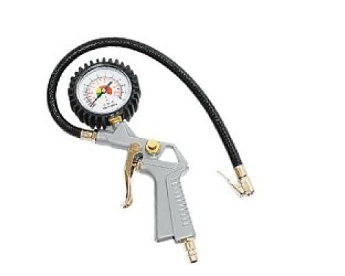 Пневматическое оборудование FUBAG Пневмопистолет для накачки манометром 110113 140л/мин_0-10бар_блистер