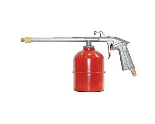 Пневматическое оборудование FUBAG Пневмопистолет для вязких жидкостей 110111 130л/мин_3.5бар_0.9л_цветн.коробка
