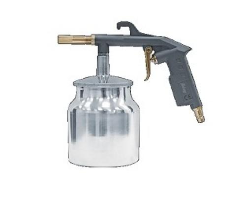 Пневматическое оборудование FUBAG Пневмопистолет пескоструйный бачком 110115 142л/мин_3.5бар_0.75л_цветн.коробка