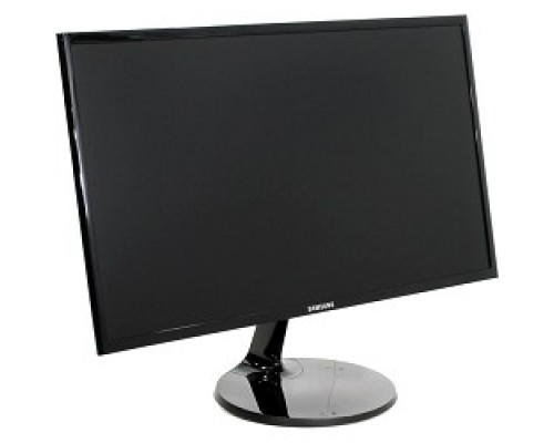 LCD Samsung 23.5 S24F350FHI черный PLS LED 1920x1080 4 ms 16:9 250cd 178/178 D-Sub HDMI