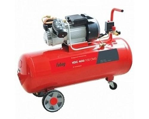 FUBAG VDC 400/100 Компрессор 614319561 Реси- вер, л 100 Произ- водит., л/мин 400 Давле- ние, бар 8 Мощность, кВт 2.2 Напря- жение, В 220 Вес, кг 62