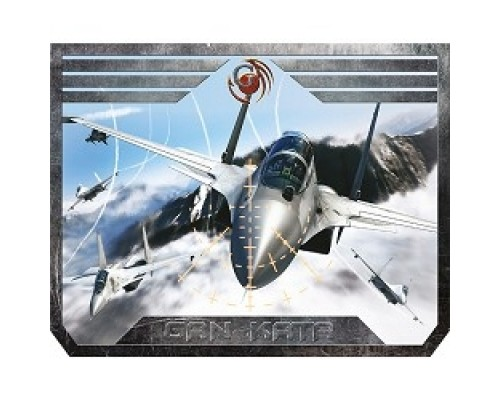 Dialog Gan-Kata PGK-07 plane с рисунком самолета, Игровая поверхность для мыши -размер 300х235х3мм