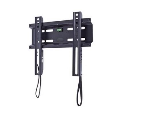 Крепеж Кронштейн Kromax FLAT-5 NEW, LCD/LED и плазма тв 15-47, настенный, 0 ст.свободы, VESA 200x200 мм, черный