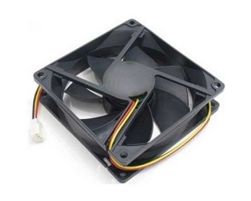 Вентилятор Gembird 80x80x15, втулка, 3 pin, провод 30 см