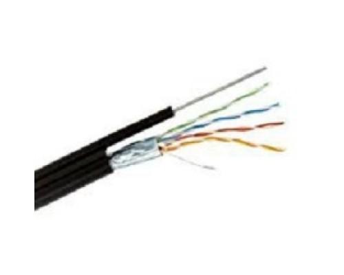 REXANT (01-0144) FTP CAT5e 4 пары (305м) 0.51 мм OUTDOOR + ТРОС*1
