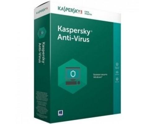 KL1171RBBFS Kaspersky Anti-Virus Russian Edition. 2-Desktop 1 year Base Box 850044