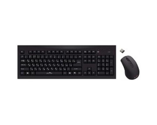 Клавиатура Oklick 210M Wireless Keyboard&Optical Mouse Black USB 612841