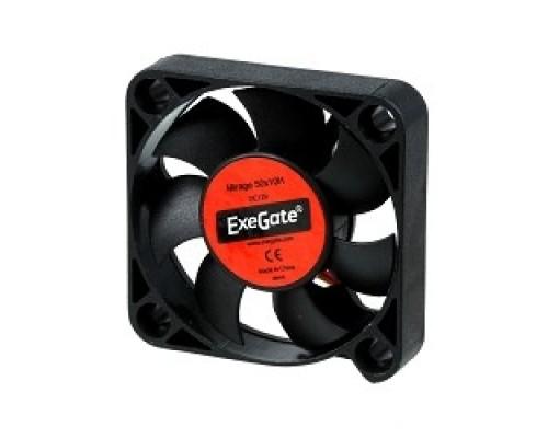 Exegate EX253943RUS Вентилятор ExeGate Mirage-H 50x50x10 гидродинамический подшипник, 4500 RPM, 22dB, 3pin