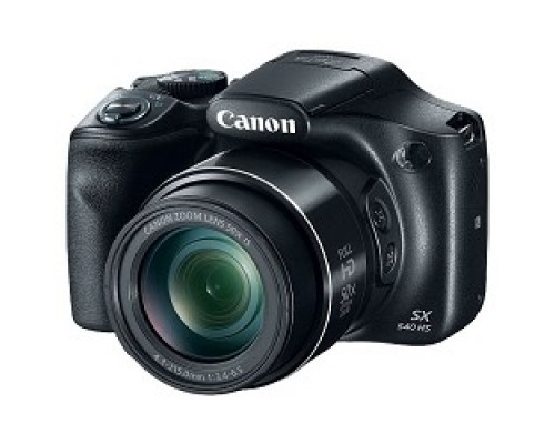 Canon PowerShot SX540 HS черный 20Mpix Zoom50x 3 1080p SDXC CMOS 1x2.3 IS opt 1.6fr/s 30fr/s HDMI/WiFi/NB-6LH