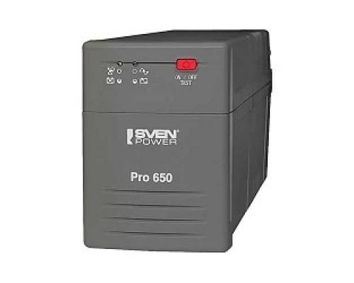 ИБП SVEN Источник бесперебойного питания Pro 650