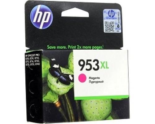 Расходные материалы HP F6U17AE Картридж струйный №953XL пурпурный OJP 8710/8720/8730/8210
