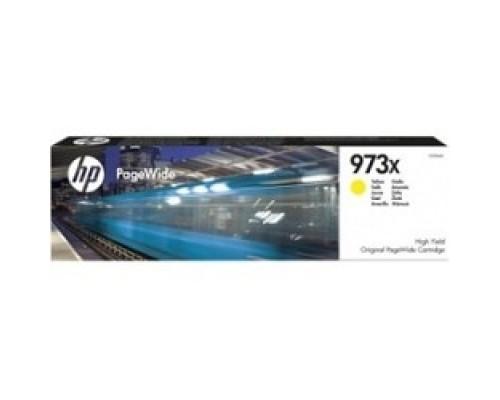 HP F6T83AE Картридж струйный №973XL, Yellow PW Pro 477dw/452dw (7000стр.)