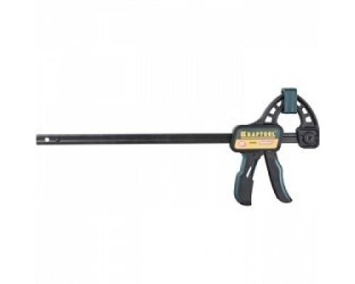 Струбцина KRAFTOOL EXPERT EcoKraft ручная пистолетная, пластиковый корпус, 300/500мм, 150кгс 32226-30_z01