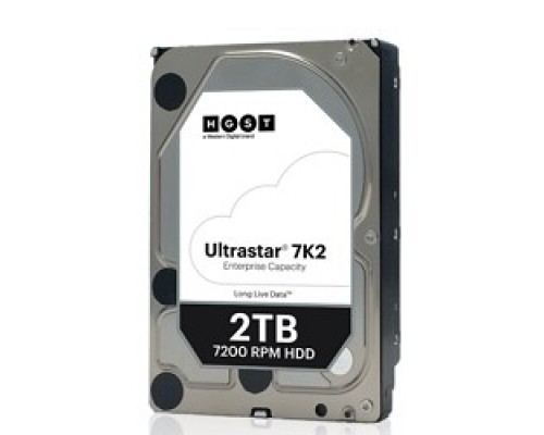 2Tb Western Digital Ultrastar DC HA210 SATA 6Gb/s, 7200 rpm, 128mb buffer, 3.5 1W10002/HUS722T2TALA604