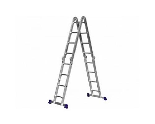 СИБИН Лестница-трансформер алюминиевая, 4х4 38852