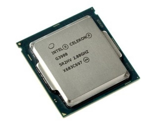 Процессор CPU Intel Celeron G3900 Skylake OEM 2.8ГГц, 2МБ, Socket1151