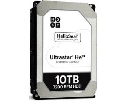 10Tb Hitachi ULTRASTAR HE10 SAS 12Gb/s, 7200 rpm, 256mb buffer, 3.5, ULTRA 512E SE H10 0F27354 HT0F27354